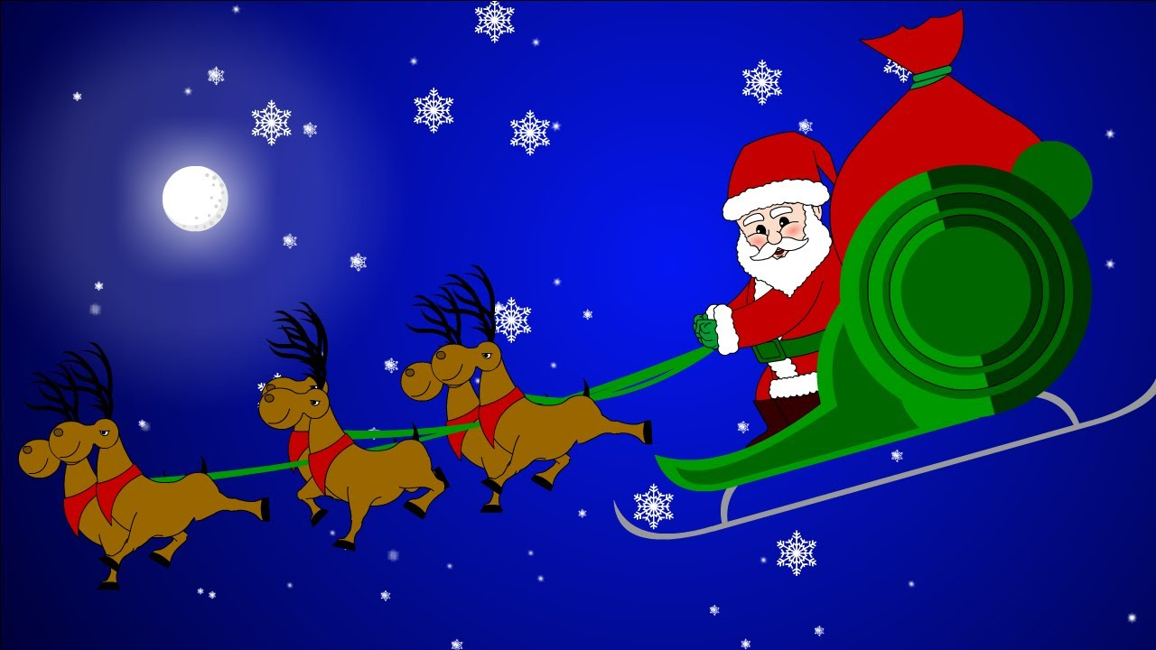 Santa Claus Is Coming To Town - Kids Christmas Song