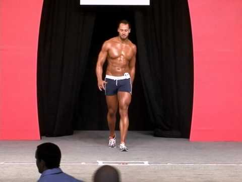 Muscle and Fitness Men's Physique Contest Held at Olympia Weekend 2010 1of5