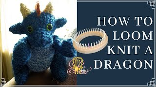 How To Loom Knit A Dragon