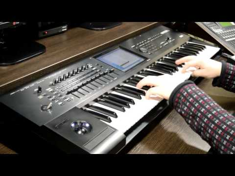 Electro Piano (EP-1) demo sounds review on KORG KRONOS X (HD)