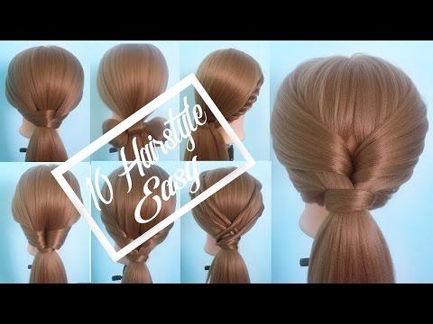 10 kiểu tết tóc sau gáy đi làm đơn giản trong 5 phút