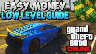 GTA 5 How To Make Money Fast Online (Low Levels Get Money