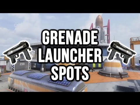 Black Ops 2: Takeoff Grenade Launcher / Noob Tube Spots (Domination & Search and Destroy)