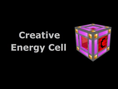 Creative Energy Cell (Tekkit/Feed The Beast) - Minecraft In Minutes