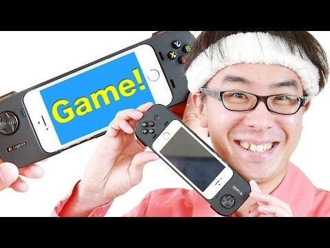 ついにキタ!iPhone専用ゲームコントローラー「ロジクール G550」がやってきた!前編