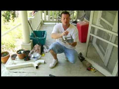 Home Repairs & Improvements : How to Fix a Sagging Gutter