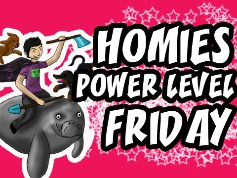 Homies Power Level Friday | Minecraft | Homiecraft Ep.36 | Coffee Filled Edition!!!