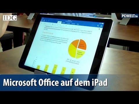 Microsoft veröffentlicht Office für das iPad | deutsch / german
