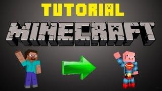 Tutorial Minecraft Como Cambiar De Skin Sin Ser Premium