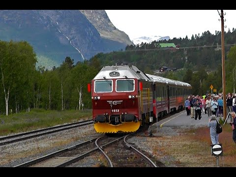 NSB Di4. 653 Diesel-Electric Locomotive In Norway