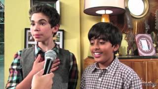 "Cameron Boyce & Karan Brar Talk Pranks & ""Jessie"" Season 2"
