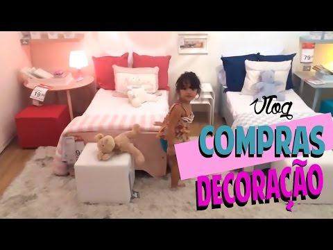 Compras de Decoração para Casa. | Vlog |Por Tatiana Lobo.