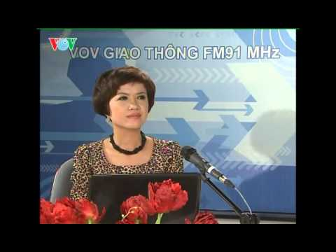 Giao luu voi ca sy Anh Tho tren vov giao thong FM91