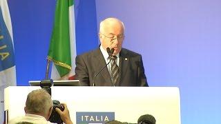Carlo Tavecchio è il nuovo presidente della FIGC - Speciale Assemblea Elettiva 2014