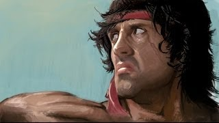 Rambo The Video Game All Cutscenes Cinematics Full Movie 2014