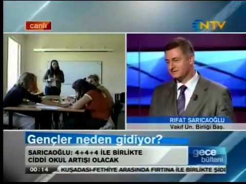 İstanbul Bilgi Üniversitesi Mütevelli Heyeti Başkanı Rifat Sarıcaoğlu