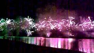 Biggest Fireworks On Palm Jumeirah Dubai Opening