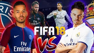 £1,000 FIFA 18 WAGER!!! BILLY VS JEREMY | REAL MADRID VS PSG | LG Super UHD Nano Cell TV