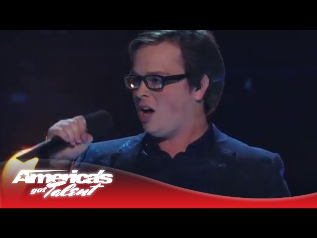 "Jonathan Allen -- Young Opera Singer Sings ""Impossible Dream"" Cover -- America's Got Talent 2013"