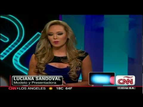 Entrevista a Luciana Sandoval con Ismael cala en CNN en Español