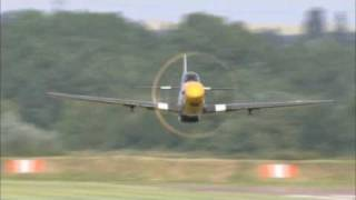 P-51 Mustangs In The Air The P-51 Mustang Video