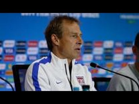 Jurgen Klinsmann criticizes referee selection USA-BELGIUM 2014