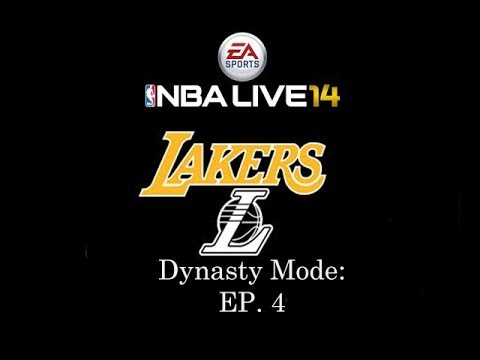 NBA Live 14 Dynasty Mode: Los Angeles Lakers [Ep.4][Y1G6] - Kobe vs Harden