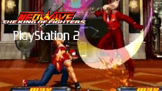 The King Of Fighters Neowave Playthrough (Playstation 2