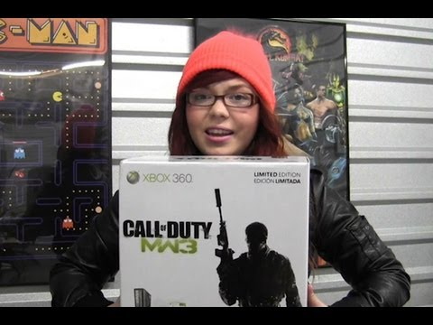 CGRundertow XBOX 360 LIMITED EDITION MODERN WARFARE 3 BUNDLE Video Game Console Review