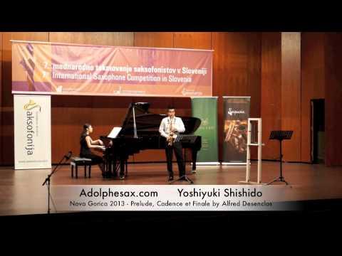 Yoshiyuki Shishido – Nova Gorica 2013 – Prelude, Cadence et Finale by Alfred Desenclos