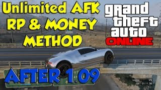 GTA 5 ONLINE: UNLIMITED AFK RP AND MONEY SOLO METHOD