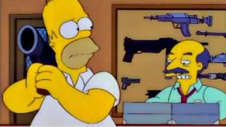 The Simpsons: Homer at the Gun Shop