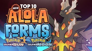 Top 10 Possible NEW Alola Forms For Pokemon Ultra Sun and Pokemon Ultra Moon