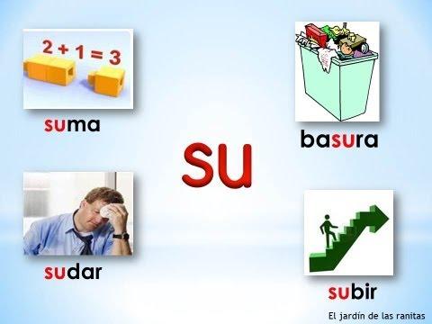 # 4 Sílabas sa se si so su - Syllables with S