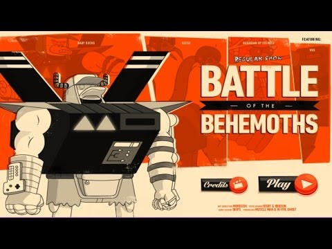 Cartoon Network Games: Regular Show - Battle Of The Behemoths [Gameplay/Walkthrough/Playthrough]