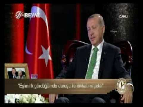 Turkey's Erdoğan describes love for wife on live TV - Today's Zaman
