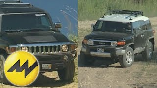 2012 Toyota FJ Cruiser Test Drive & SUV Video Review videos