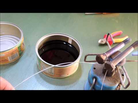 Pavonado de tornillos con aceite    Heat Oil Bluing