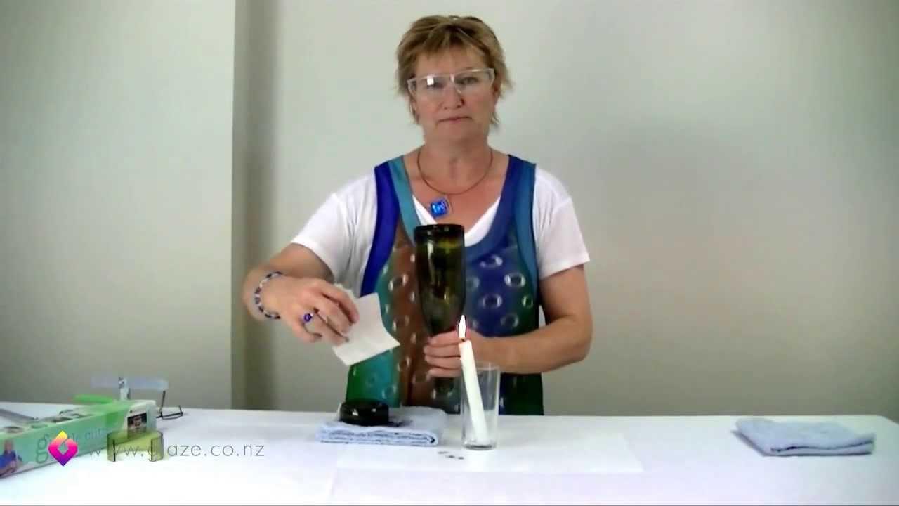 Glass bottle cutter how to cut glass bottles part 2 for Generation green bottle cutter
