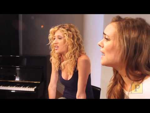 EXCLUSIVE: Caissie Levy and Taylor Noble Perform Give Words of Love in Hot Off the Ivories
