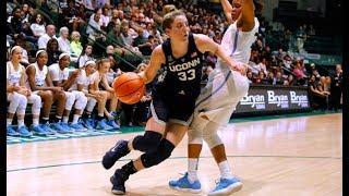 UConn Women's Basketball Highlights v. Tulane 02/21/2018