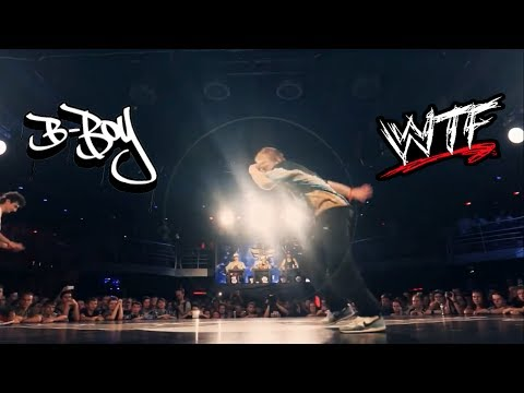 B-boy WTF Moves ** Amazing Break Dance **
