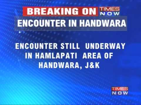 Encounter in Kupwara District of Jammu and Kashmir
