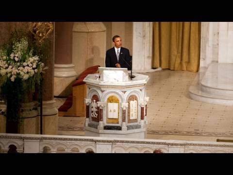 President Obama's Eulogy for Senator Edward Kennedy