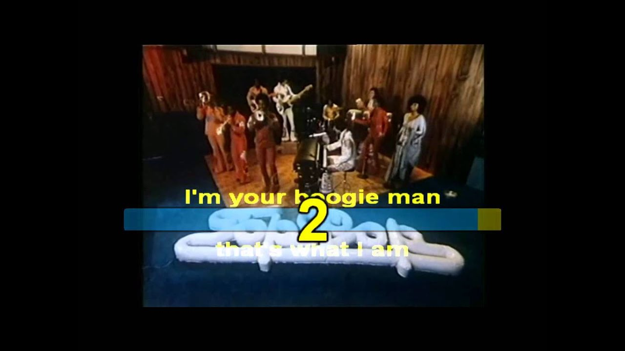 KC And The Sunshine Band Boogie Shoes