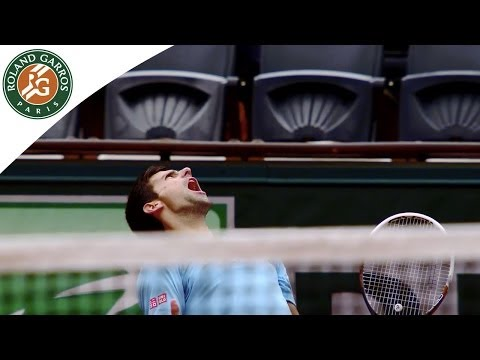 2014 French Open. Novak Djokovic's road to the Final