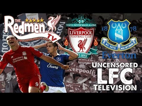 Liverpool vs. Everton – Goals + Highlights + Interviews [HD]