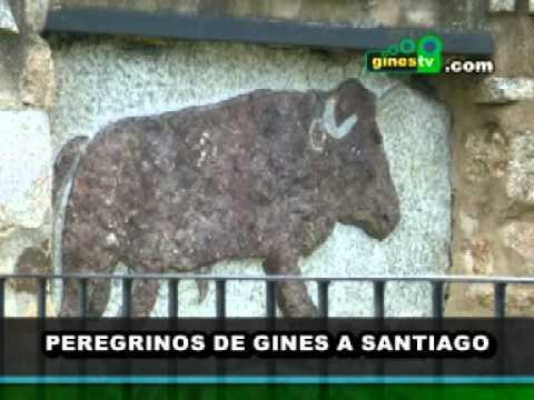 Peregrinos de Gines a Santiago 2011