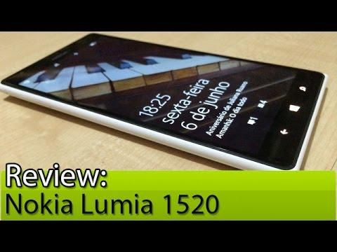 Prova em vídeo: Nokia Lumia 1520 | Tudocelular.com