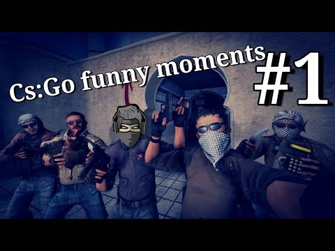 Cs:Go funny moments! #1